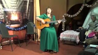 Это счастье, когда сцеловывать соль с ресниц есть кому, Левашова Юлия, святочный концерт в ОАЗИСе