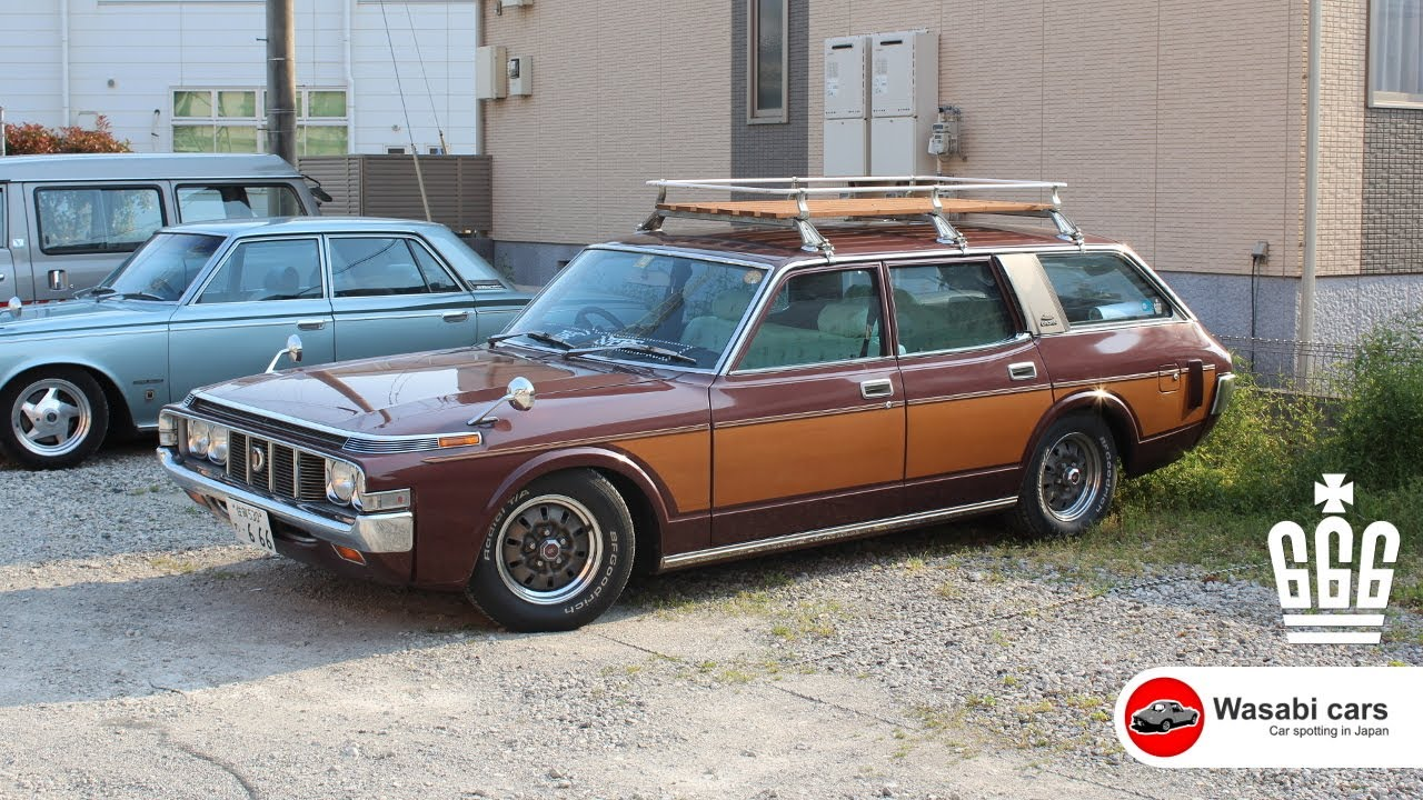 My Friend\'s Ride: 1974 Toyota Crown Custom Station Wagon (MS62 ...
