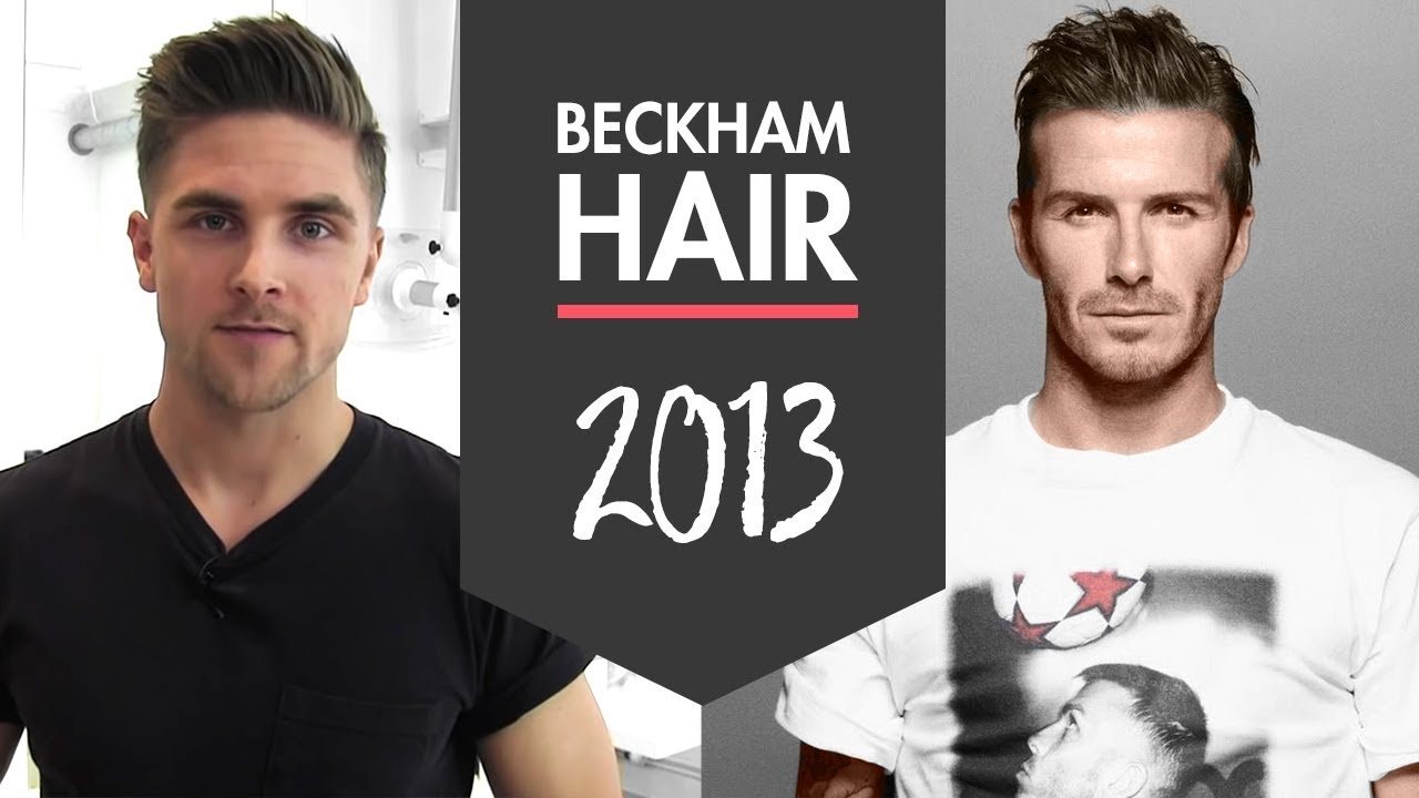 David Beckham Hairstyle - H&M 2013 - How To Style Inspiration By ...