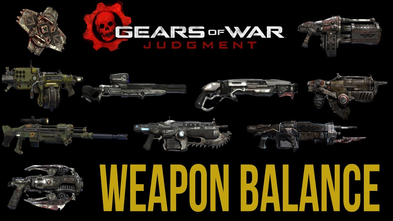 Gears Of War Judgment NEW Mulitplayer Info Weapon Balance