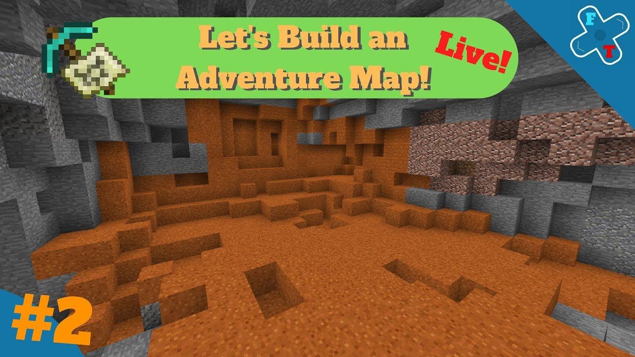Let's Build an Adventure Map! - Minecraft Bedrock: Season 1 Part 2
