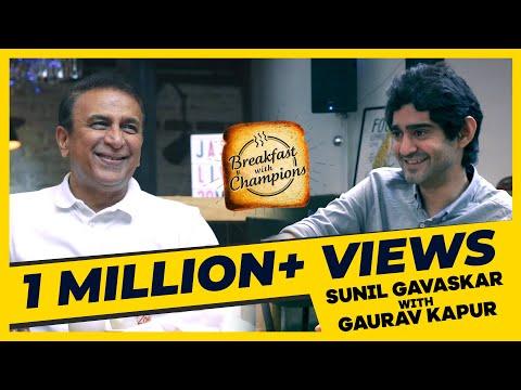 Sunil Gavaskar's greatest cricketing memories!