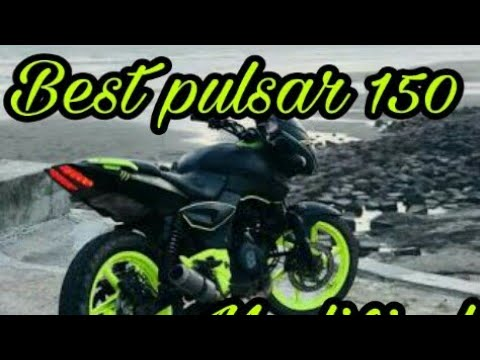 Pulsar 150 modified bike in bd