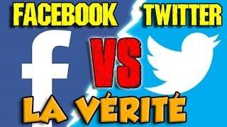 FACEBOOK VS TWITTER : LA VÉRITÉ