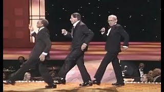 Jerry Lewis Tap Dances With Prince Spencer & Jack Ackerman (1989) - MDA Telethon