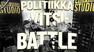 Politiikkavitsibattle! Noin viikon studio