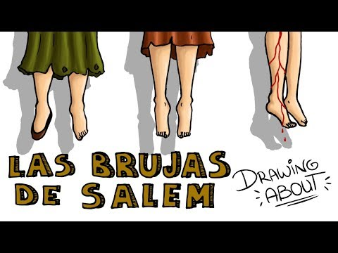 LAS BRUJAS DE SALEM   Drawing About