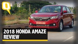 2018 Honda Amaze Detailed Review - The Quint
