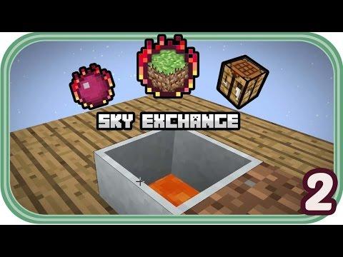 Barrel der Unedlichkeit - Minecraft Sky Exchange #002 - Deutsch - Chigocraft