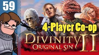 Let's Play Divinity: Original Sin 2 Four Player Co-op Part 59 - Magister Grimes