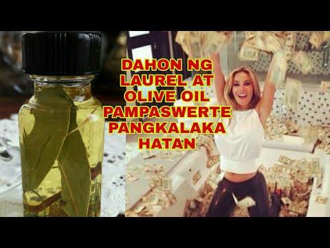 DAHON NG LAUREL AT OLIVE OIL MAGIC BOTTLE PANGKALAHATANG SWERTE-Apple Paguio7