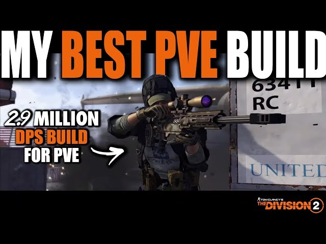 THE DIVISION 2 | MY BEST PVE BUILD 2.9 MILLION DPS | FULL AR BUILD GUIDE