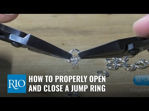 How to Properly Open and Close a Jump Ring