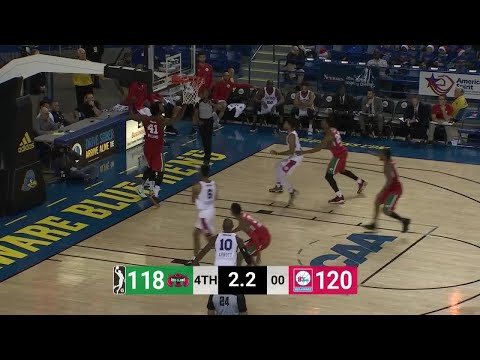 Devin Williams Posts 23 points & 23 rebounds vs. Delaware 87ers