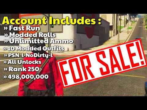 GTA 5 Modded Account For Sale {SOLD}