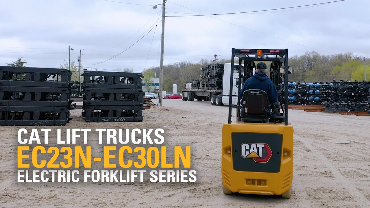 The Cat Lift Trucks© Electric Sit-Down Counterbalanced Forklift