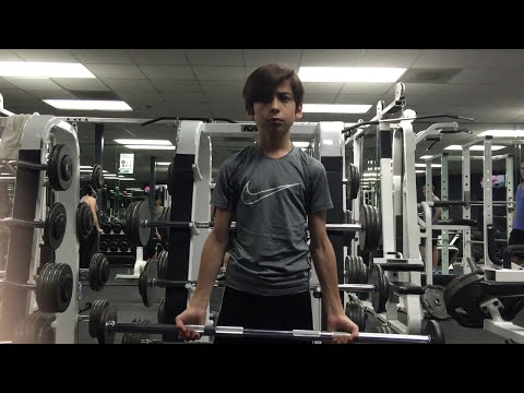 Aidan Gallagher 2016  Workout = Age 12  GO TO 2017 video to see 1 year improvement! February 24