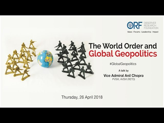 The world order and global geopolitics — Talk by Vice