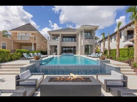 Luxury Orlando Vacation Villa | Secret Playroom, Indoor Basketball Court &  Infinity Pool