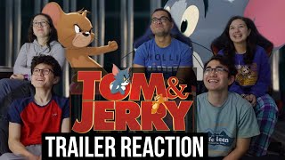 TOM & JERRY | Live Action Movie Trailer REACTION!! || MaJeliv Reactions