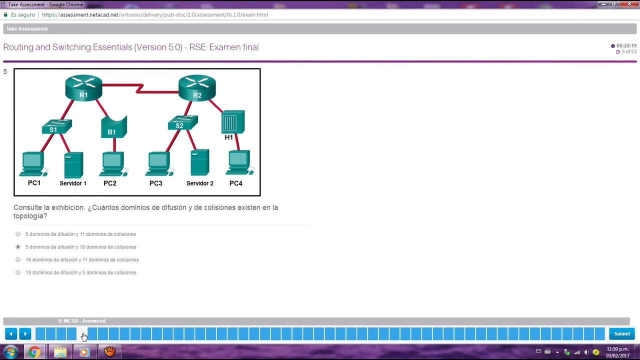 Examen Final Ccna Rse Routing And Switching Essentials Versión 5 0