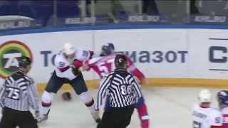 Массовая драка в матче Лада - Слован / Lada vs Slovan massive brawl