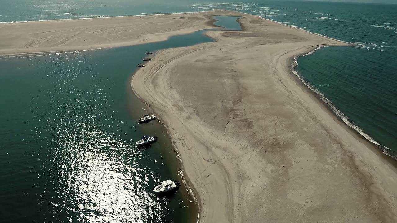 shark island at cape lookout north carolina youtube