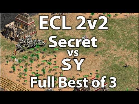 ECL Africa 2v2 | Secret vs SY | Full Best of 3!
