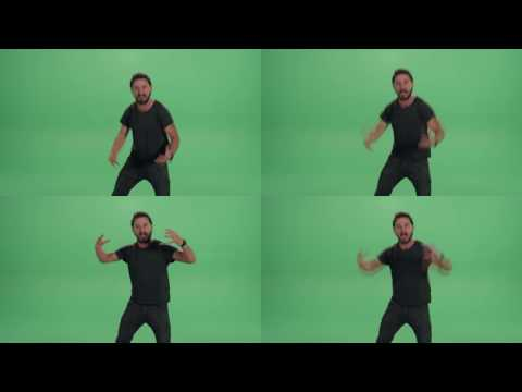 Shia Labeouf Says 'JUST DO IT' 1,000,000 Times