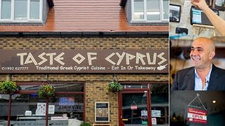Taste of Cyprus - Restaurant Website - £79 - 08433 202 505