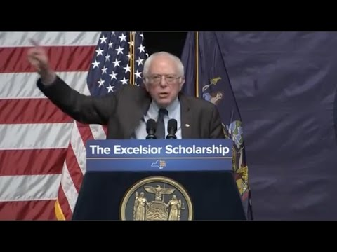 Andrew Cuomo and Bernie Sanders announced a proposal for free tuition for state colleges.