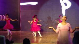 Diva's Ballet Dance Performance on Annual Day.