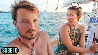 Download Video Sailing Decisions that Risk EVERYTHING | Sailing to Northeast Sapodilla Caye Belize | S03E15 MP3 3GP MP4