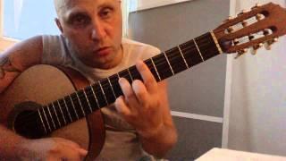 Уроки гитары.Вступление В.Цой-Звезда по имени солнце