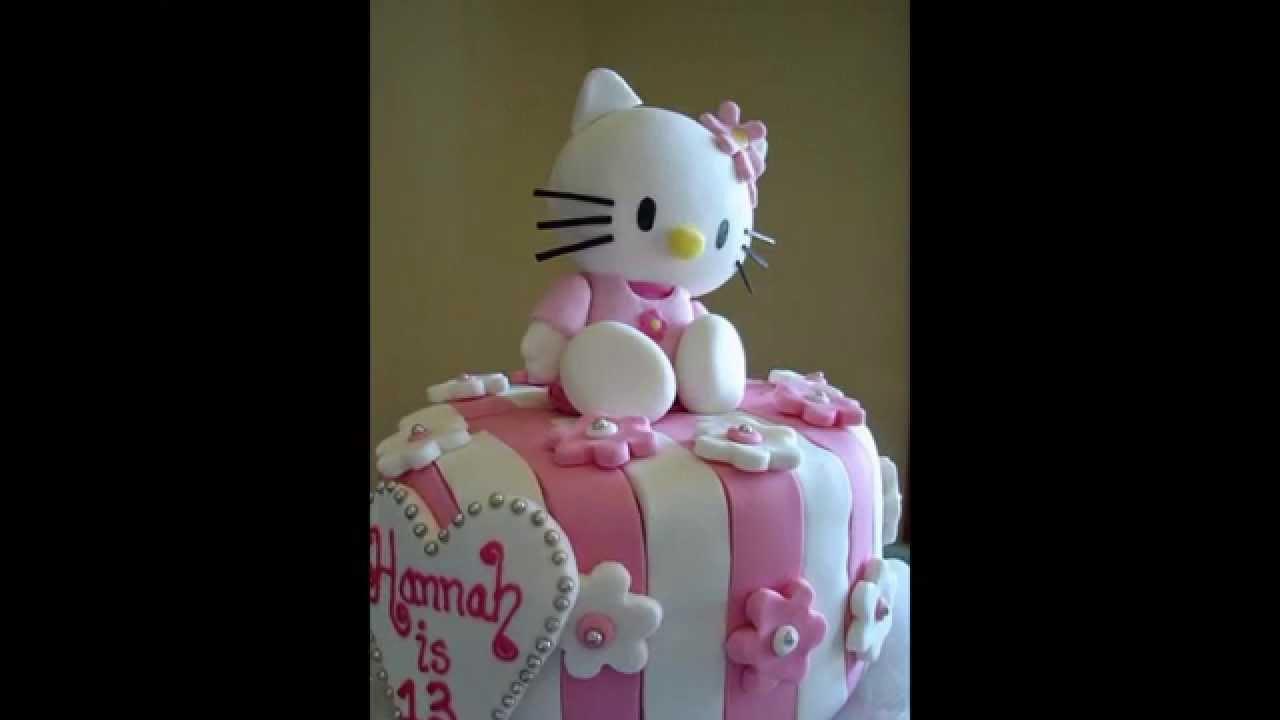 hello kitty birthday cake for girlfriend YouTube