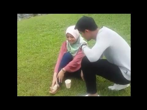 Sweet Aksi Mira Filzah Buat Manja Bersama Alif Aziz Di Set Meh Sandar Pada Aku Raya