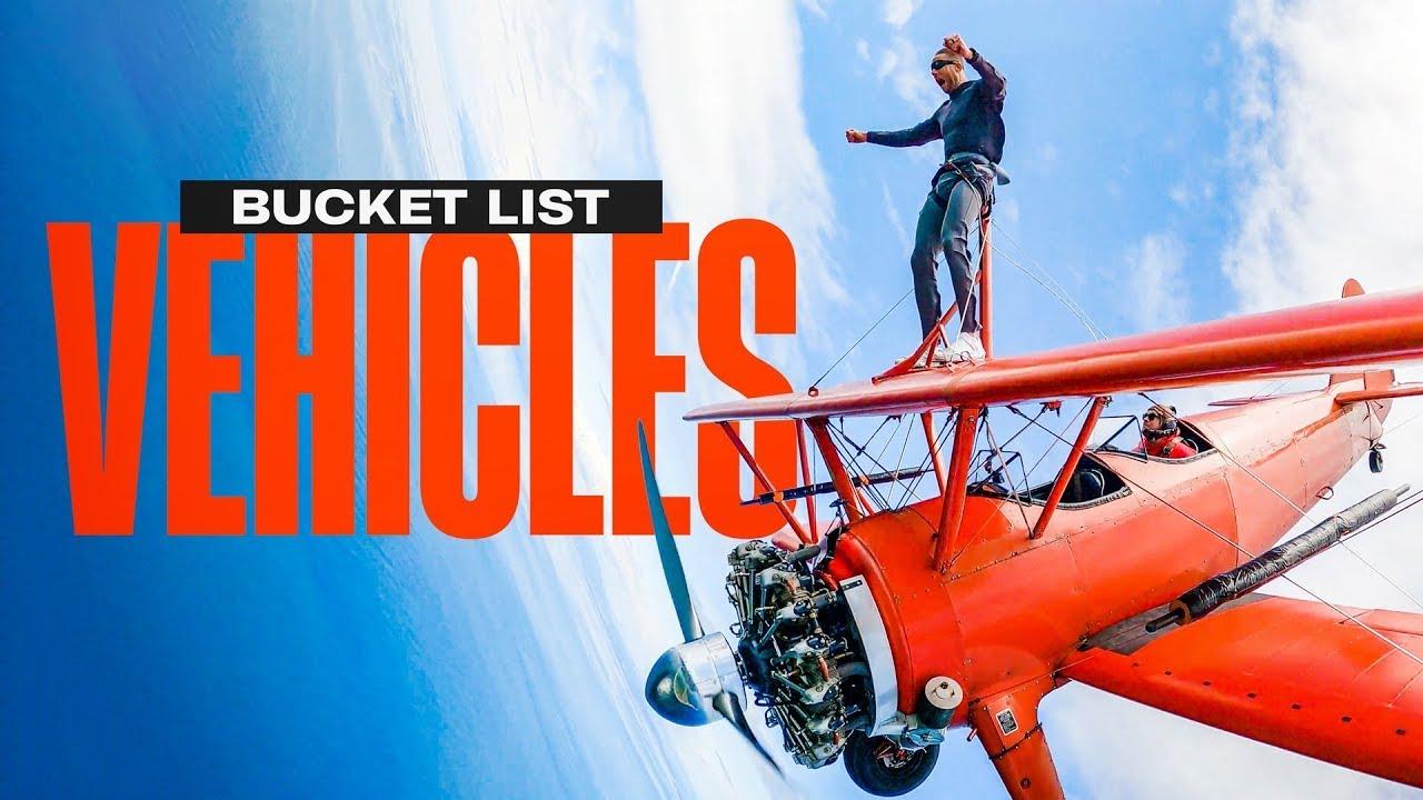 Dude Perfect Bucket List: Walking on a Plane