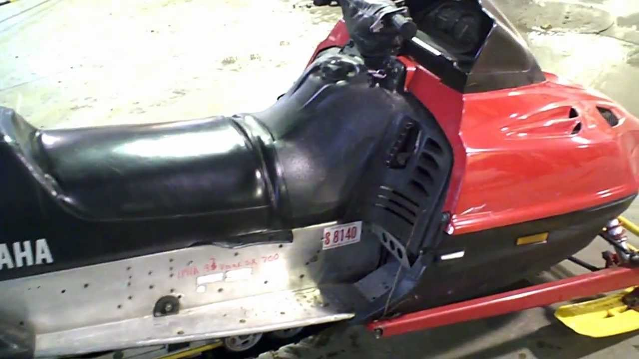 Saddlemen Snowmobile Replacement Seat Cover Black Fits 94-96 Yamaha Vmax 500