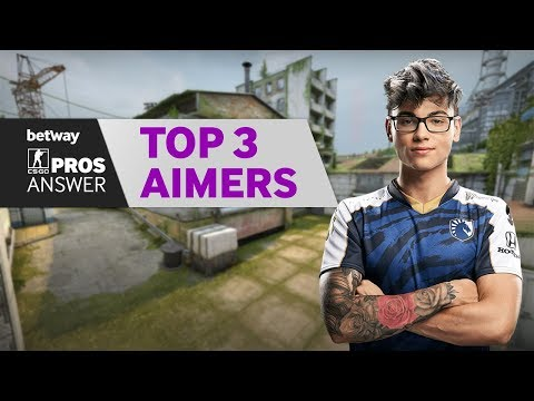 CSGO Pros Answer: Who Are The Top 3 Aimers?