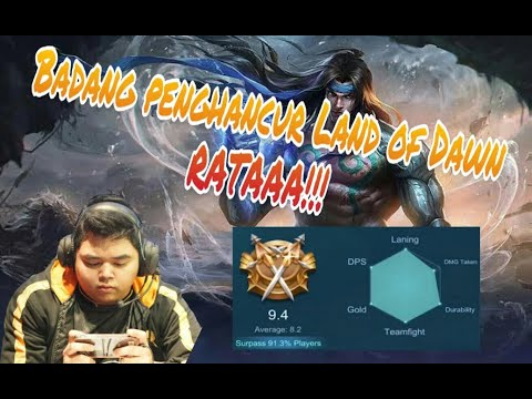 Tutorial gameplay Top 1 World/2 Indonesia Badang with RRQ thumbnail