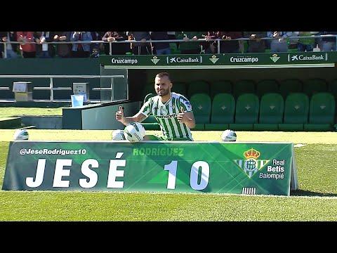El Betis presenta oficialmente a su nuevo jugador Jesé Rodríguez