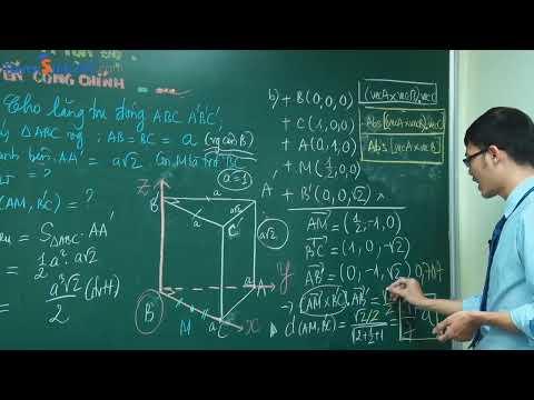 Giải nhanh HHKG bằng phương pháp tọa độ - Môn Toán lớp 12 - Thầy Nguyễn Công Chính.