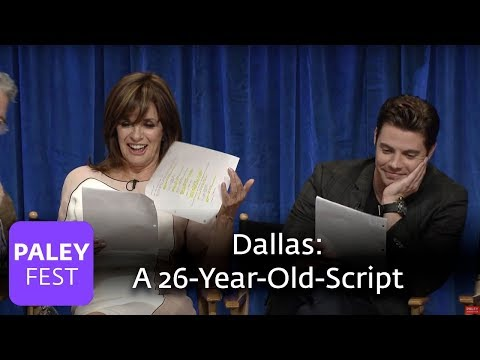 Dallas  - Linda Gray and Josh Henderson Read a Scene from a 1988 episode