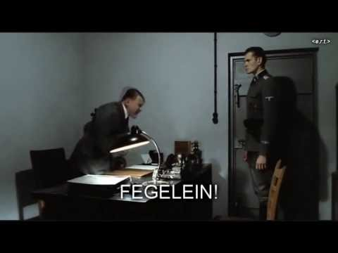 Hitler is informed that Tony Benn has died
