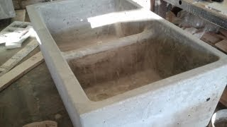 Concrere Farm Sink Double Kitchen Mold