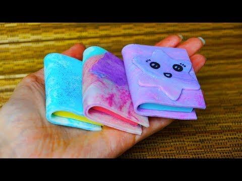 DIY 3 IDEAS SILICONE / Eraser silicon / Back To School / DIY School Supplies