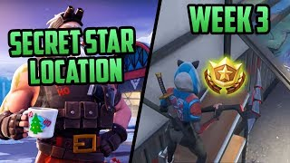 Season 7, Week 3 | *SECRET* Battle Star Location! (Free Tier) - Fortnite