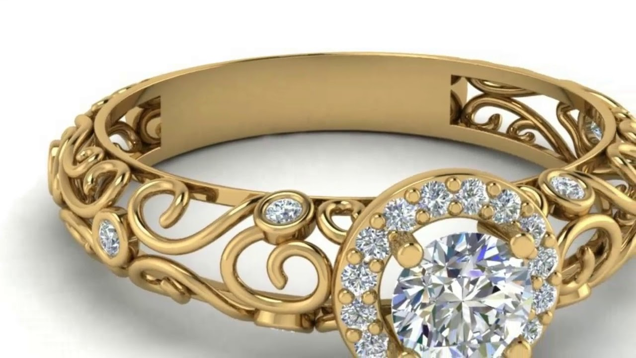 Design Of Ring Simple And Modern Gold Design 2018 Youtube