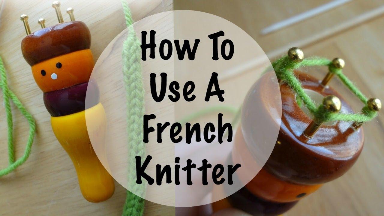Pony French Knitter Knitting Doll