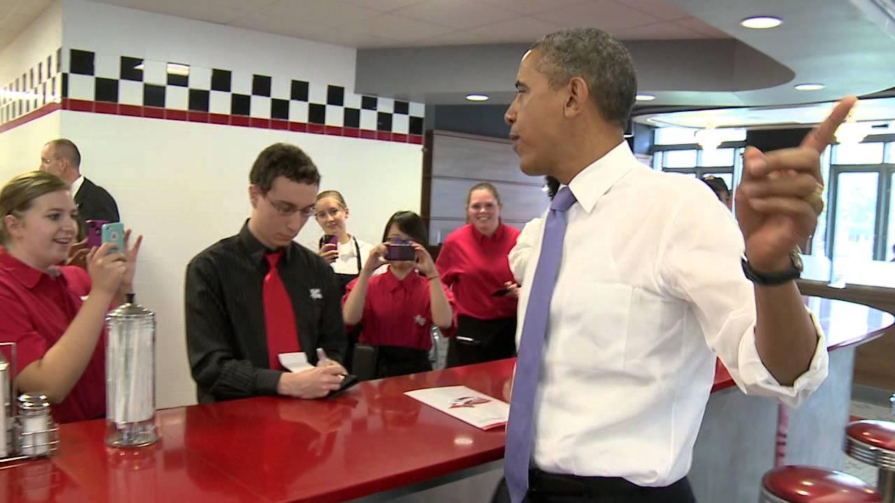 President Obama Surprises - A Video